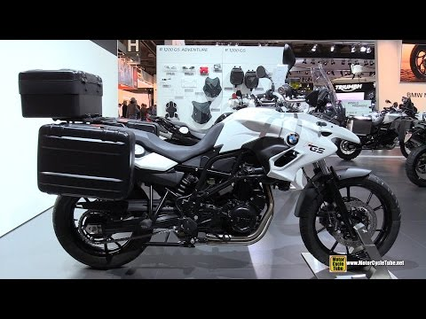 2015 BMW F700 GS Low Seat - Walkaround - 2014 EICMA Milan Motorcycle Exhibition