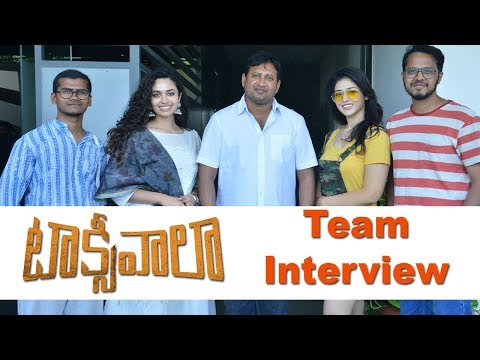 Taxiwala Movie Team Interview With Press