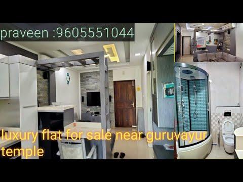 luxury flat for sale Guruvayur (near guruvayur temple)//Fully furnished//contact:9605551044