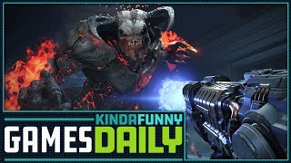 Andrea Loves Doom Eternal, Rage 2 - Kinda Funny Games Daily 08.10.18
