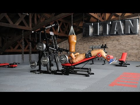 M1-23 - Barbell Decline Triceps Extension