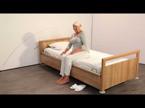 Getting in and out of bed independently with the WendyLett system (E