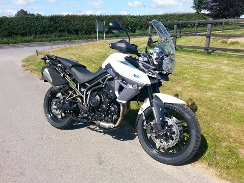 ★ TRIUMPH TIGER 800 XRX 2015 ONBOARD REVIEW ★