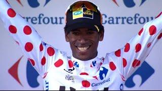 Daniel Teklehaimanot Wins Polka Dot Jersey at Tour de France