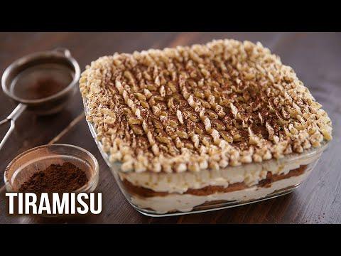 How to Make Tiramisu   Tiramisu Recipe   Vegetarian Eggless Recipe   Dessert Ideas   Ruchi