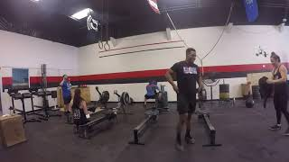 Mike Hazen 19.1 Crossfit open
