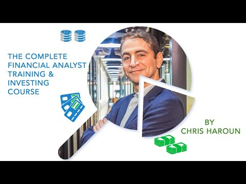 Complete Financial Analyst Training/Investing Course: 95% off ...
