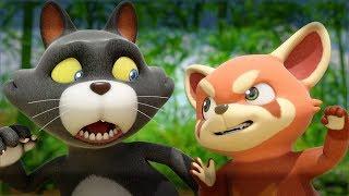 Мультики - Дуда и Дада 🐼 Красная панда Чуку! Все серии - Сборник