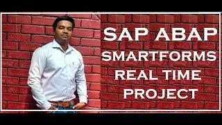 SAP ABAP Smartforms Project steps