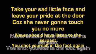 You shot yourself in the foot again lyrics HD edit