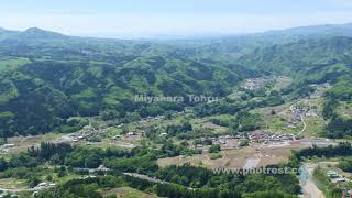 農村風景の動画素材, 4K写真素材