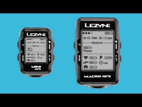 Видео о Компьютер Lezyne Mini GPS HRSC Loaded черный 4712805 987917