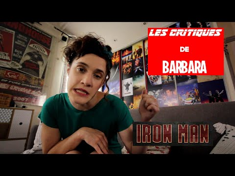 LES CRITIQUES DE BARBARA - MARVEL - IRON MAN