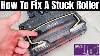 SHARK ION DUO VACUUM ROLLER FIX - SIMPLE FIX FOR A STUCK ROLLER!