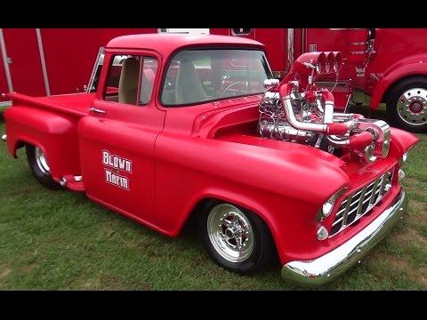56 Chevy Pickup Big Block F2 Procharger 871 Blowerblown Mafia