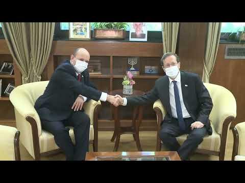 נשיא המדינה קיים פגישת עבודה ראשונה עם ראש הממשלה