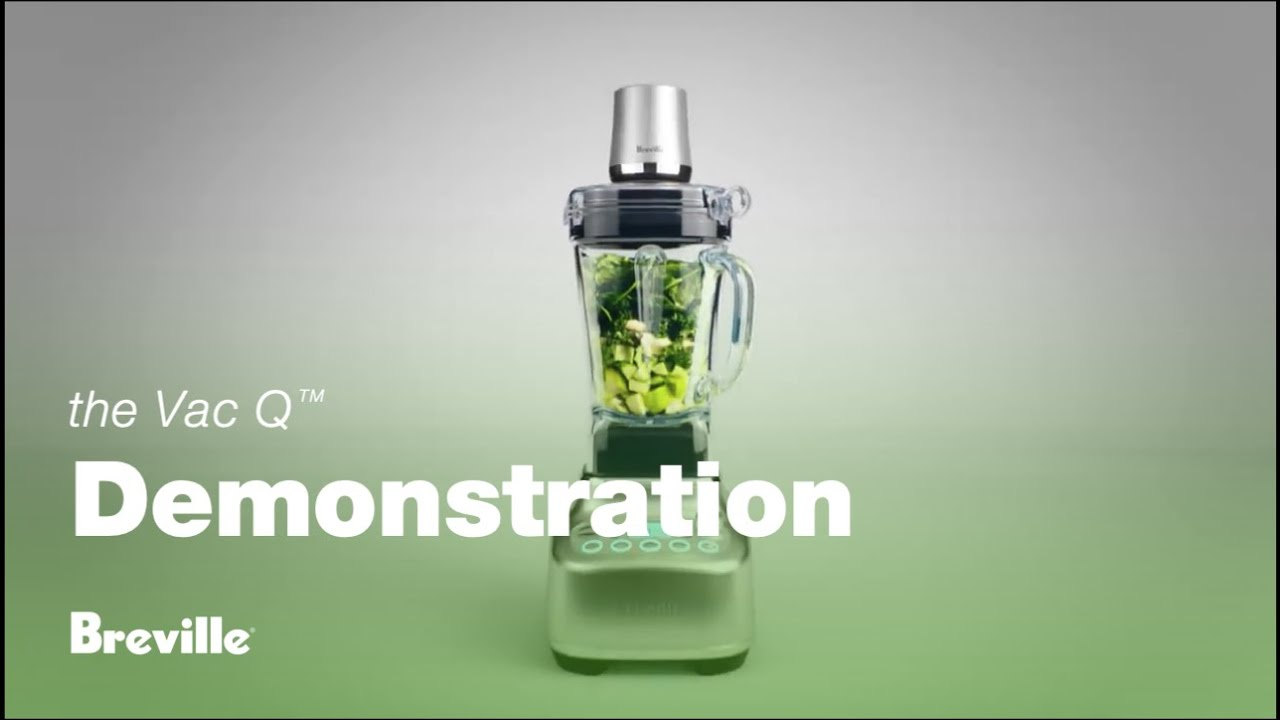 The Vac Q™: The next generation in super blending