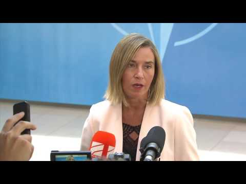 Doorsteps: NATO Defence Ministerial meeting