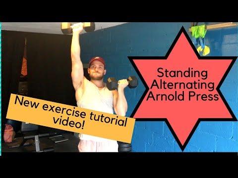 Standing Alternate Arnold Press