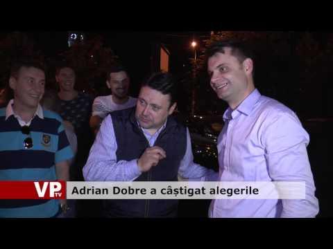Adrian Dobre a câștigat alegerile