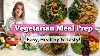 Easy and Tasty Vegetarian Meal Prep