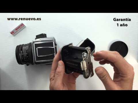 Cómo comprobar una cámara HASSELBLAD de medio formato de segunda mano