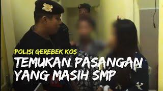 Video Polisi Gerebek Penginapan dan Temukan Pasangan yang Masih SMP di Dalam Kamar