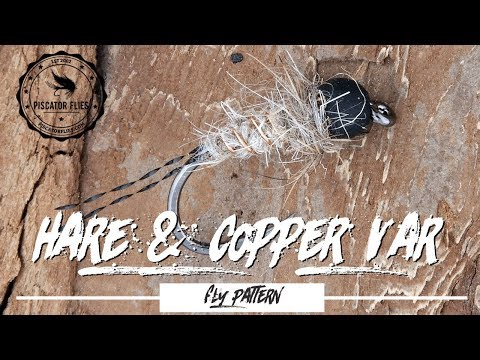 Tying the Hare & Copper Fly Pattern