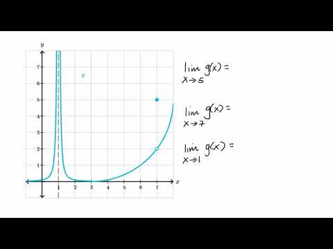 Estimating limit values from graphs (video) | Khan Academy
