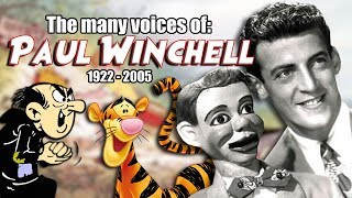 Many Voices of Paul Winchell - Animated Tribute (Tigger (Winnie the Pooh), Gargamel (Smurfs)