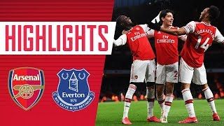 HIGHLIGHTS | Arsenal 3-2 Everton | Premier League | Feb 23, 2020