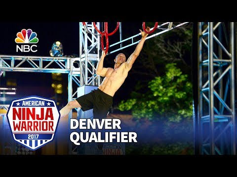 Brian Arnold at the Denver Qualifiers - American Ninja Warrior 2017