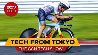 Hot Tech e bici personalizzate alle Olimpiadi di Tokyo! | GCN Tech Show ep.188