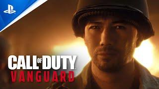 PlayStation Call of Duty: Vanguard - Daniel Take Yatsu Intro   PS5, PS4 anuncio