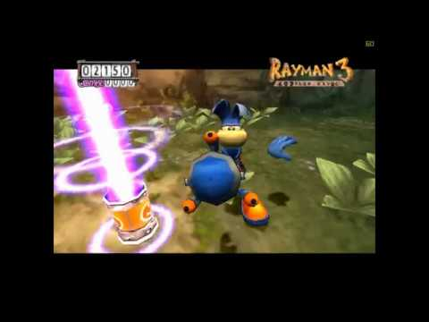 Rayman 3 - Official U.S. PlayStation 2 Magazine Demo Disc 67 Playthrough