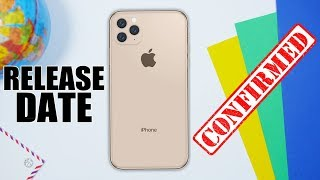 IPhone 11 Release Date LEAKED !
