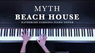 Beach House - Myth (HQ piano cover)