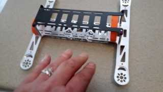 Metal H-ead MINI FPV quadcopter frame