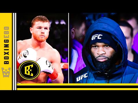 CANELO DOWN TO WHOOP UFC FIGHTER TYRON WOODLEY AFTER CALL OUT, RESPONDS...