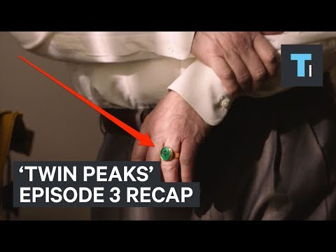 6 details you might have missed in season 3 episode 3 of 'Twin Peaks'