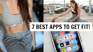 TOP 7 BEST APPS FOR FITNESS | WHAT'S ON MY PHONE!