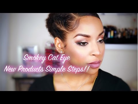 Smokey Cat Eye | New Products + Simple Steps |BeautybyLee