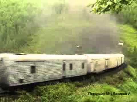 Ecological cargo train Russia ;-)