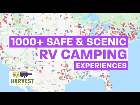 Safe and Scenic RV Camping with Harvest Hosts