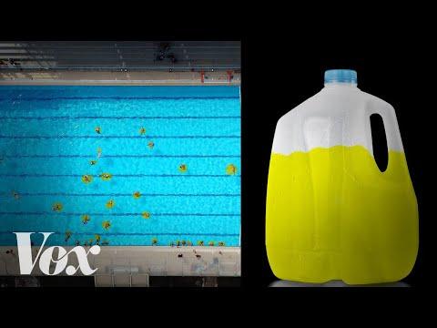 Chlorine Won't Help Your Pool of Pee
