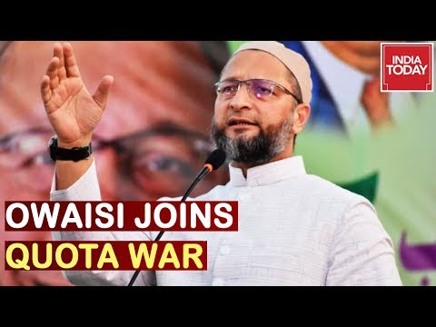 Owaisi Demands Quota For Muslims Ahead Of Maharashtra Assembly Polls