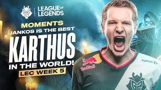LEC : le highlight & voicecomms de la semaine 5 des G2 Esports
