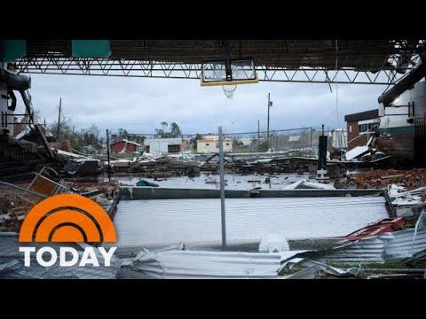 Hurricane Michael: Heavy Rain And Winds Devastate Florida   TODAY
