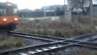 preview picture of video 'Skrzyżowanie torów Orzesze'