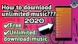 How To Download  Music  Android Devices Unlimited Music Download App